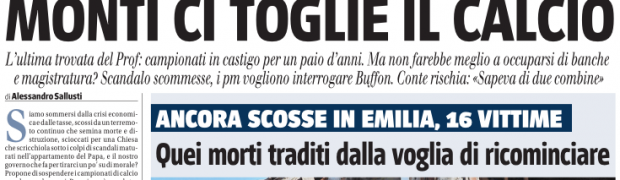 I giornali italiani online: forzati dell'infotainment